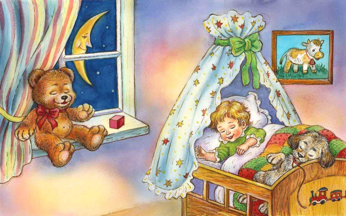 Картинки, ночь в картинках для детского сада