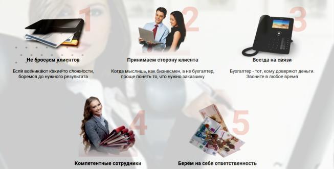 Бухгалтерские услуги от компании «Актив СТС»
