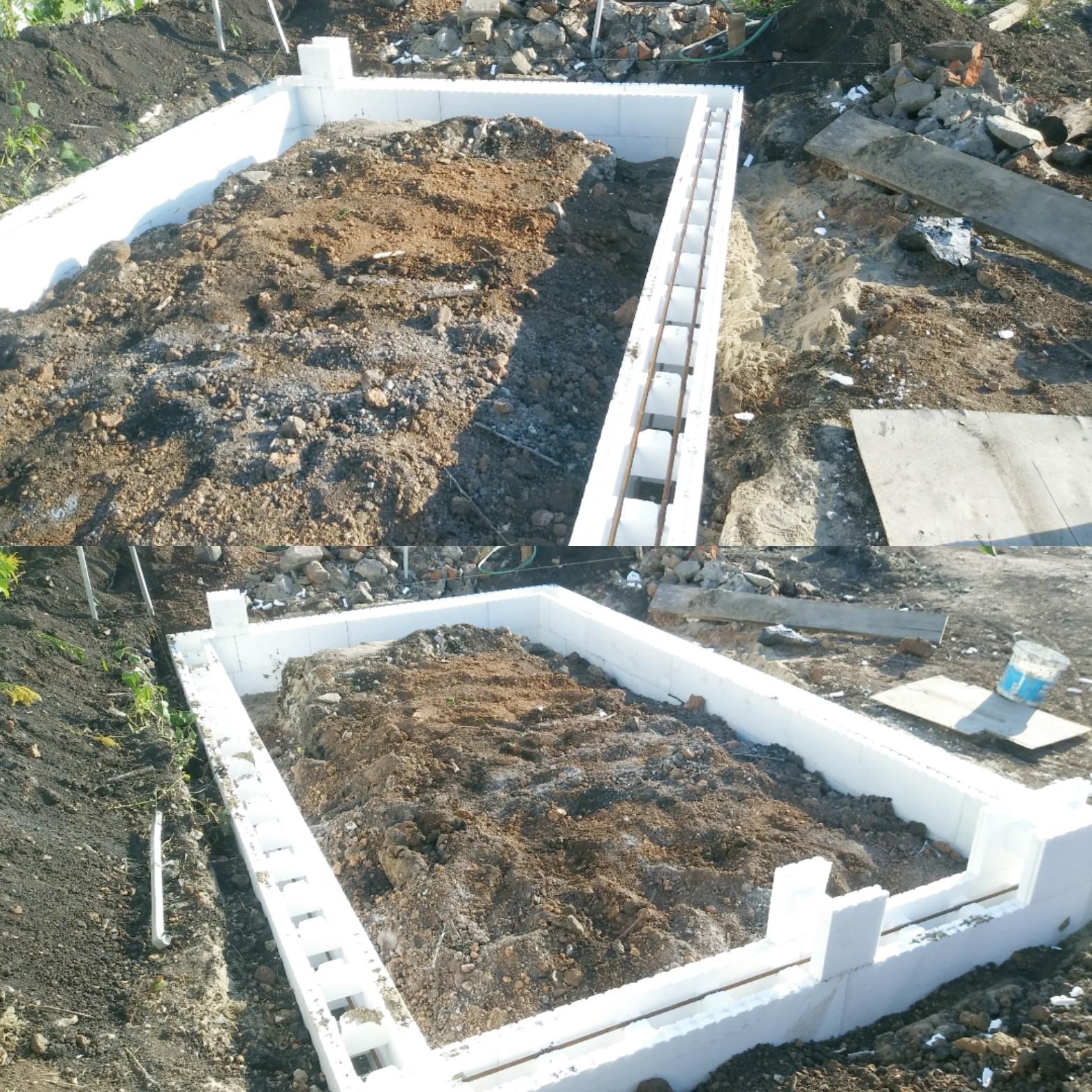 Ленточный фундамент своими руками пошаговая инструкция фото фото 504