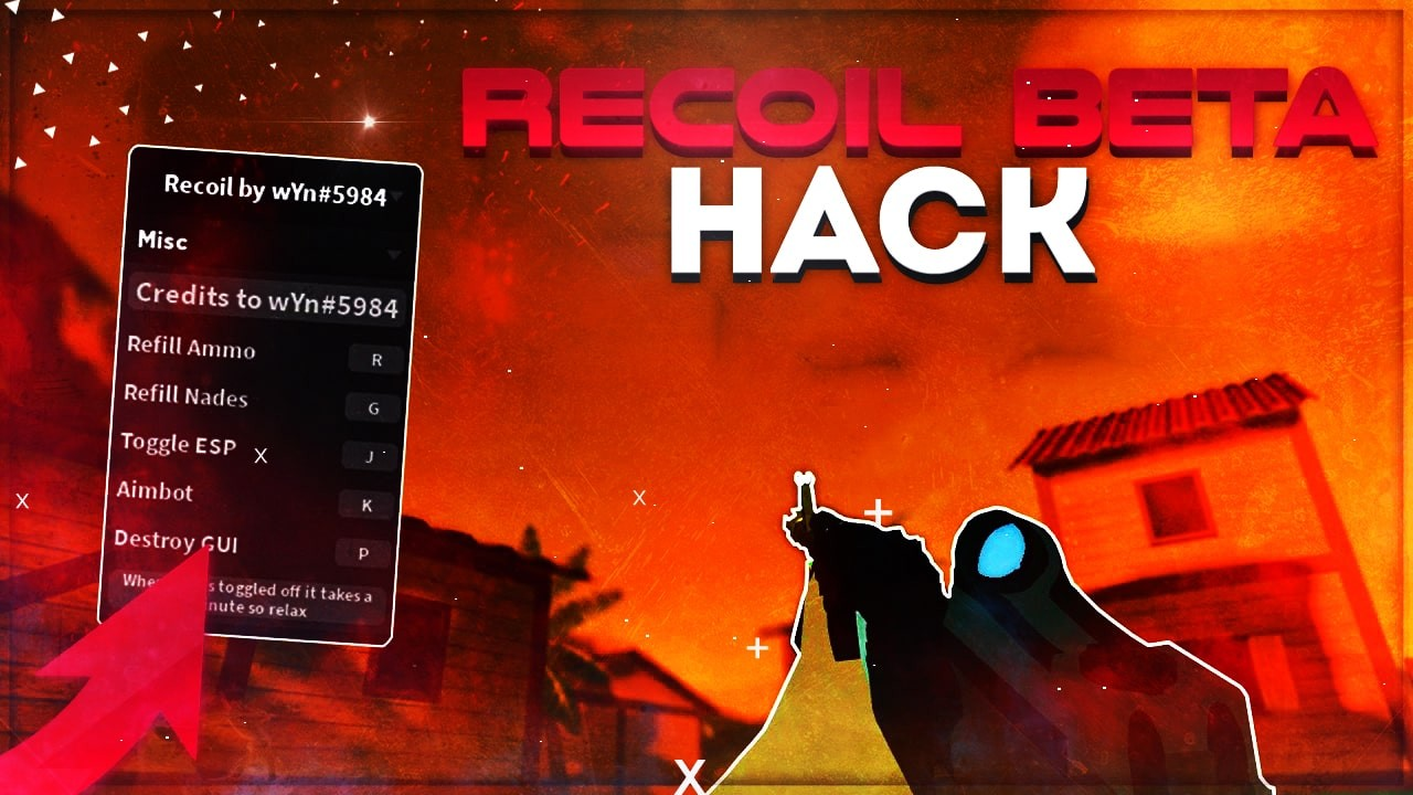How To Run A Script Hack In Roblox Recoil Beta Script Roblox Hack Teletype
