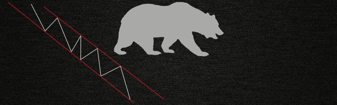 Рисунок - нисходящая тенденция теория Доу
