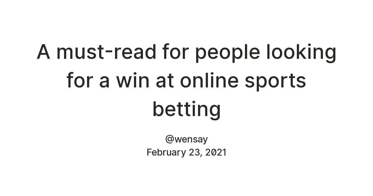 Online Sports Betting Sign Up Bonus
