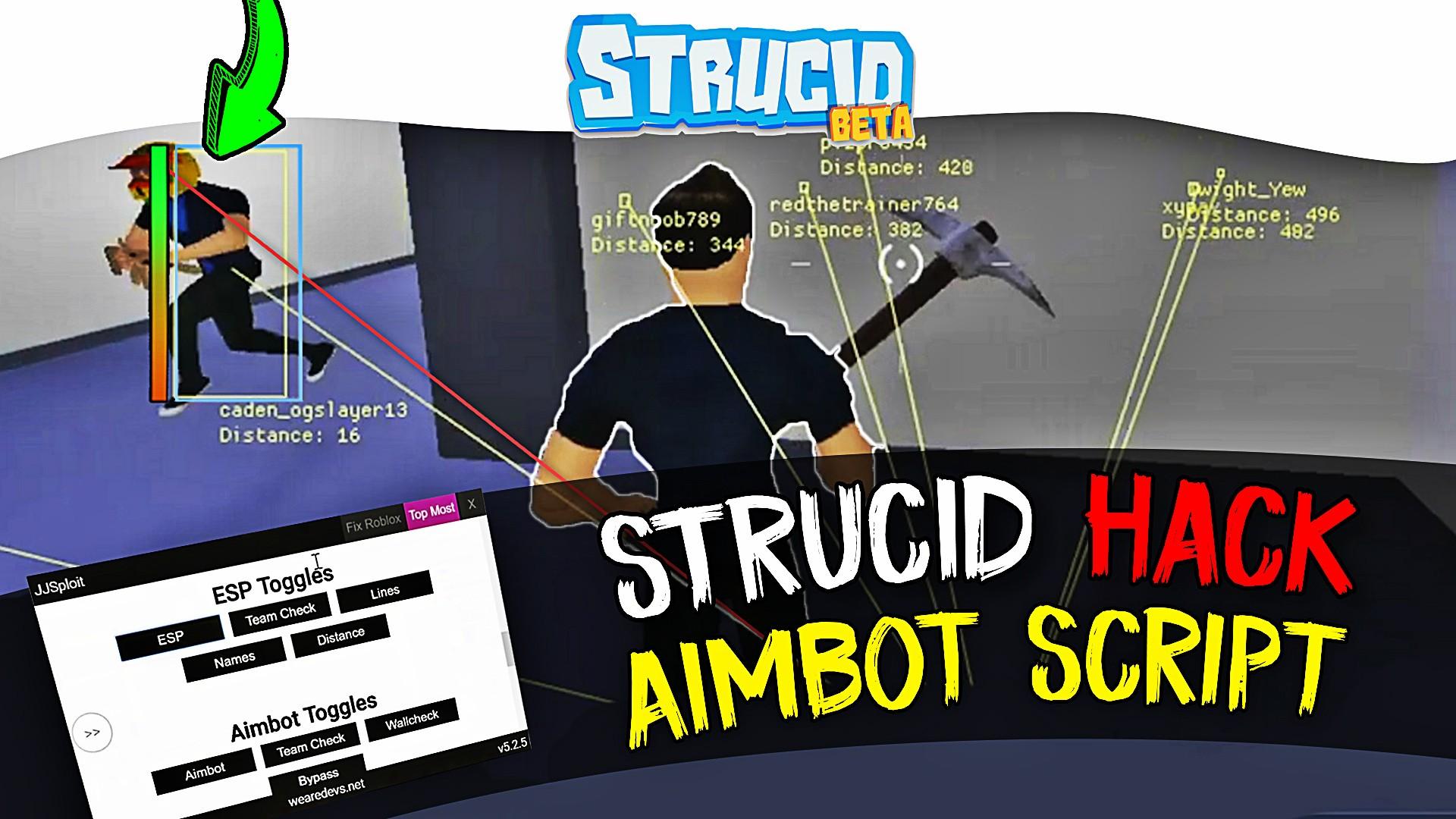 Strucid aimbot